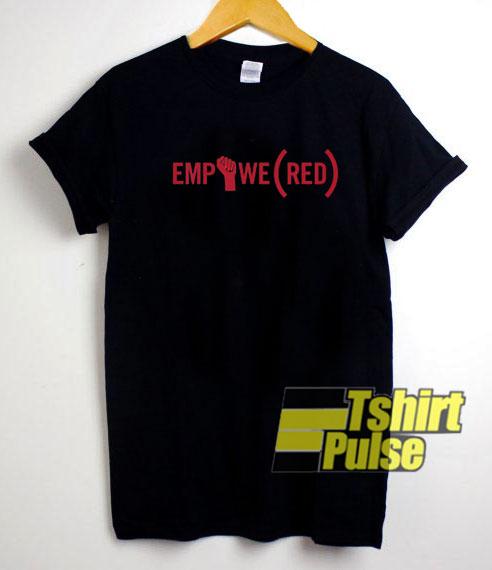 Empowe Red shirt