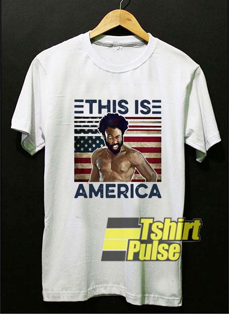 Gambino This Is America shirt