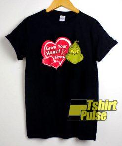 Grinch Grow Your Heart shirt