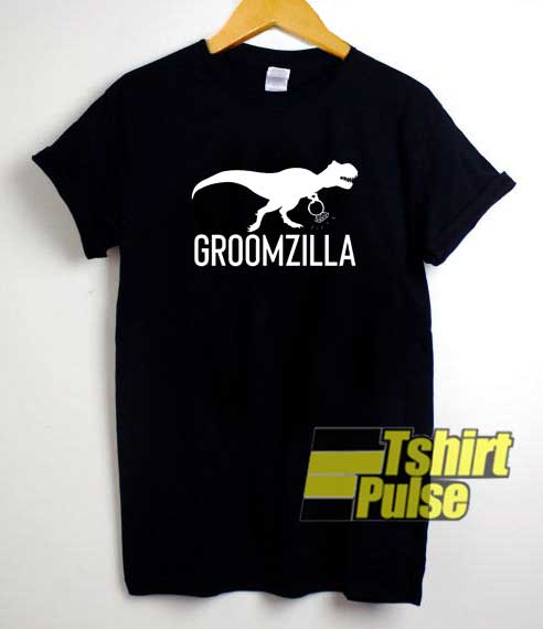 Groomzilla shirt