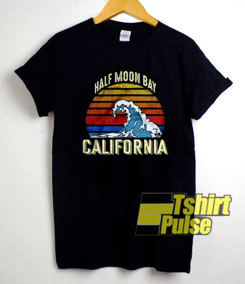 Half Moon Bay Retro California shirt