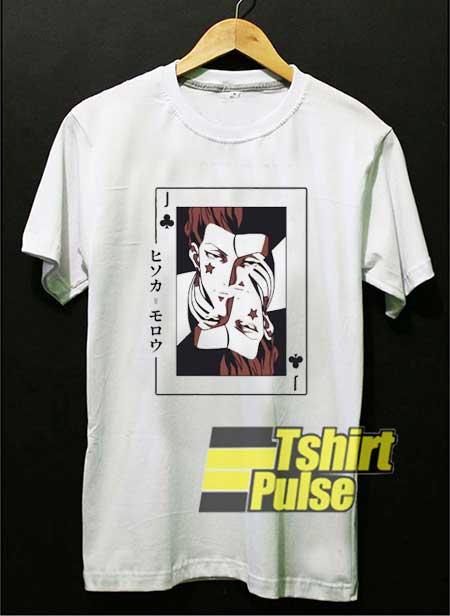 Hisoka Poker Card shirt