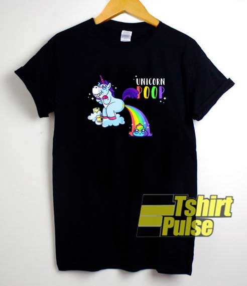I Poop Rainbows Emoji shirt