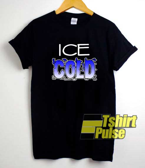 Ice Cold Art Lettering shirt