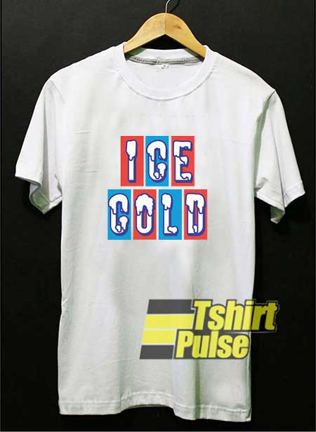 Ice Cold Lettering shirt