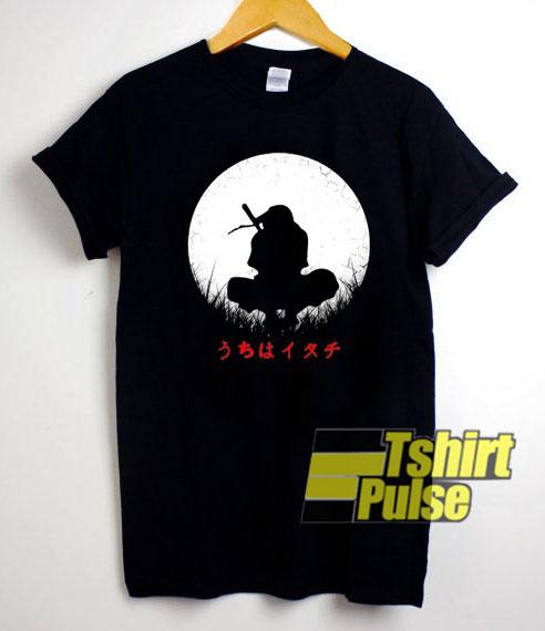 Itachi Uchiha And Moon shirt