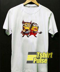 Minion Wolverine Animal Meme shirt