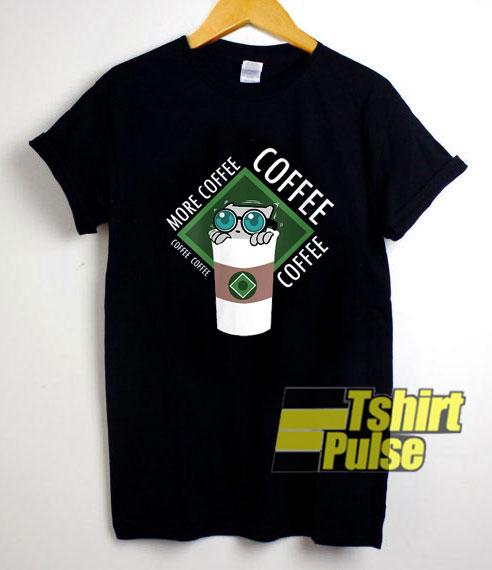 More Coffe Pilz E shirt