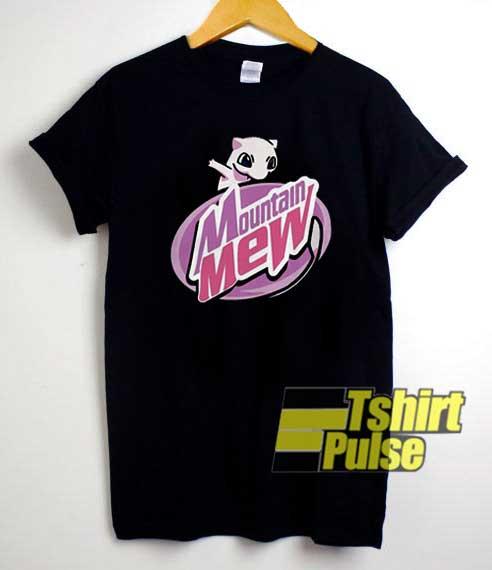 Mountain Mew Elon Musk Anime shirt
