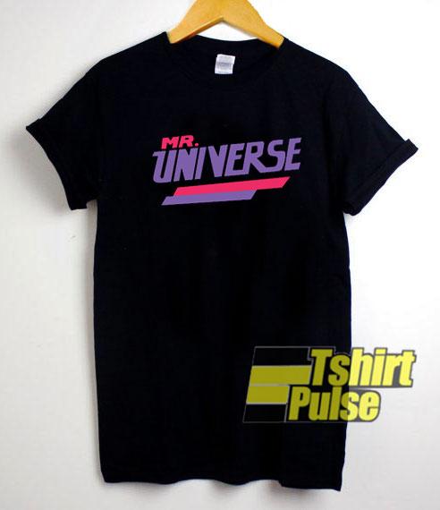 Mr Universe shirt