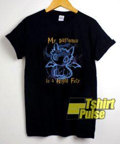My Patronus Is A Night Fury Toothless shirt