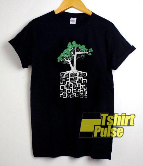 Pi Infinity Square Root shirt