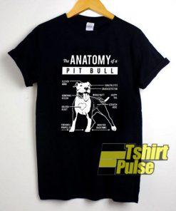 Pit Bull Anatomy shirt