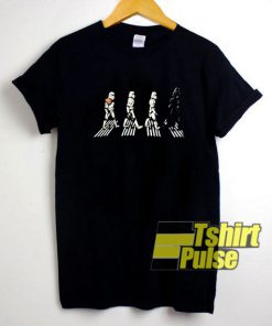 Star Wars Beatles Abbey Road shirt