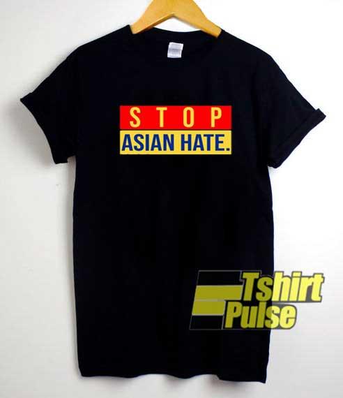 Stop Asian Hate Logo shirt