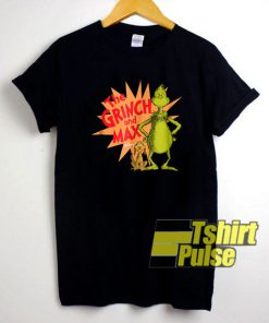 The Grinch and Max Burst shirt