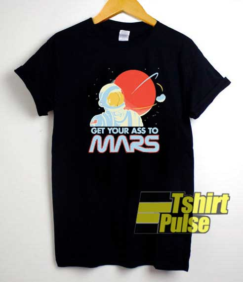 Vintage Get Your Ass to Mars shirt