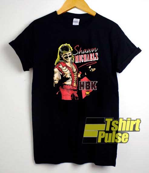 WWE Shawn Michaels HBK shirt
