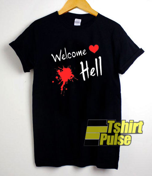 Welcome Hell Touhou shirt
