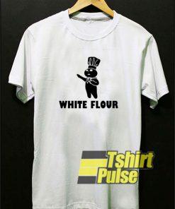 White Flour shirt
